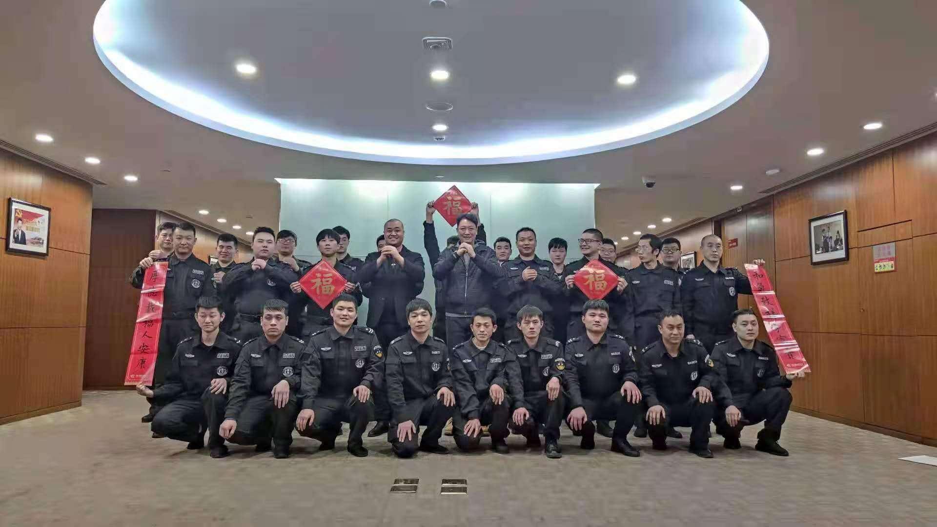 北京保安员月工资6000至6500